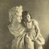Carl Lemann, Tochter Fanny, Salzpapierabzug um 1857, Coll.Mila Palm
