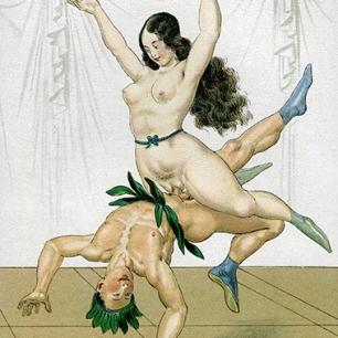 Erotische Phantasie, Wien um 1900, 20 x 15 cm © Milaneum 2017