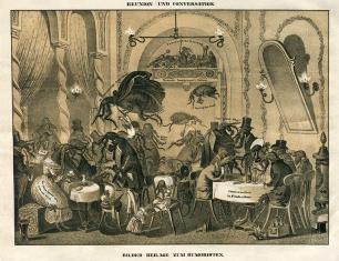 Conversation und Reunion, Wien um 1845, 35 x 28 cm © Milaneum 2017