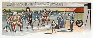 Strand-Idyll à la Röntgen um 1900, 60 x 25 cm © Milaneum 2017