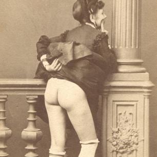 CDV Fotografie, Wien um 1865