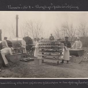 Feldbäckerei, erster Weltkrieg, Coll.Mila Palm