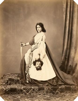 Judith & Holofernes, Ludwig Angerer, Wien, Albuminabzug ca. 1860 ©Mila Palm 2018