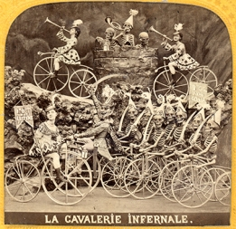 Diablerie, Frankreich um 1865, Stereofotografie, Albuminabzug ©Mila Palm 2018