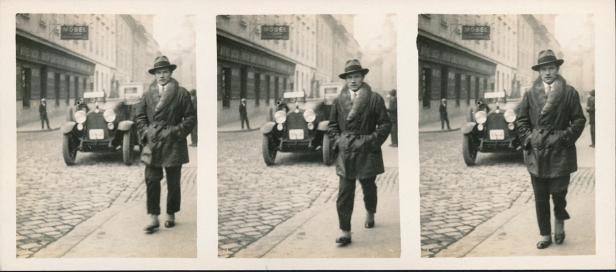 Grazer Gehfilmer um 1930, Coll. Mila Palm